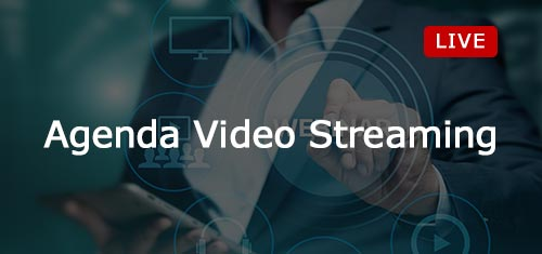Agenda Video Streaming